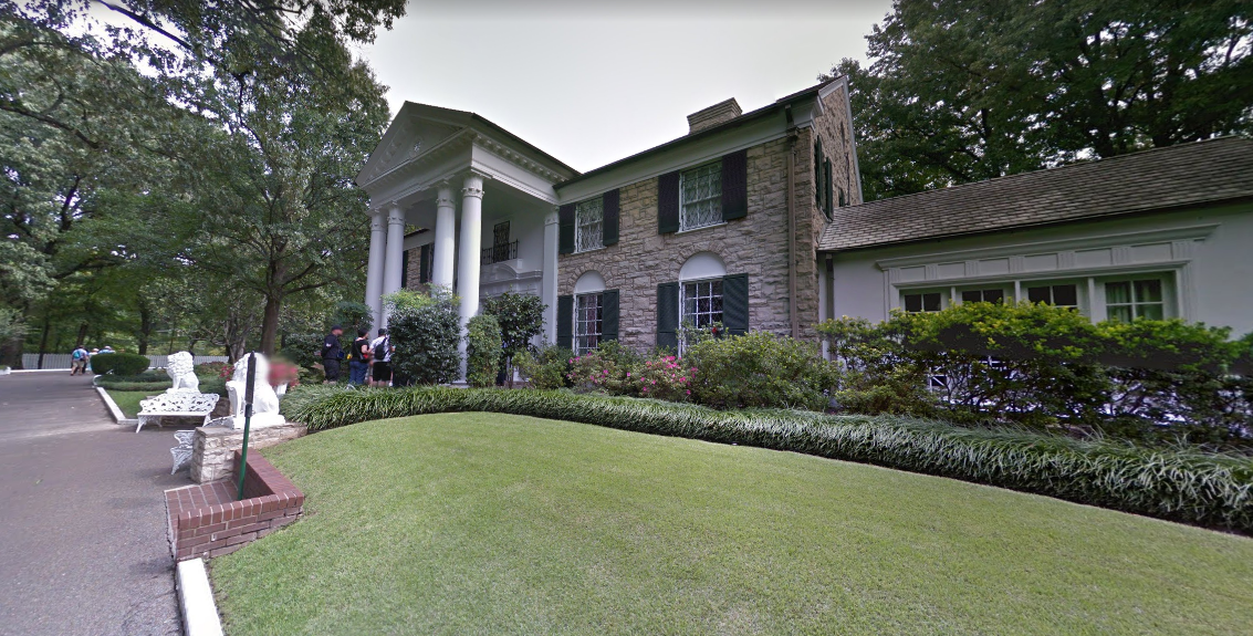 Elvis Presley Graceland Mansion - Location - Global Film ...